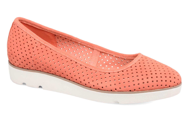 Nuevo zapatos Clarks Evie Más Buzz (Rojo) - Bailarinas en Más Evie cómodo 080aee