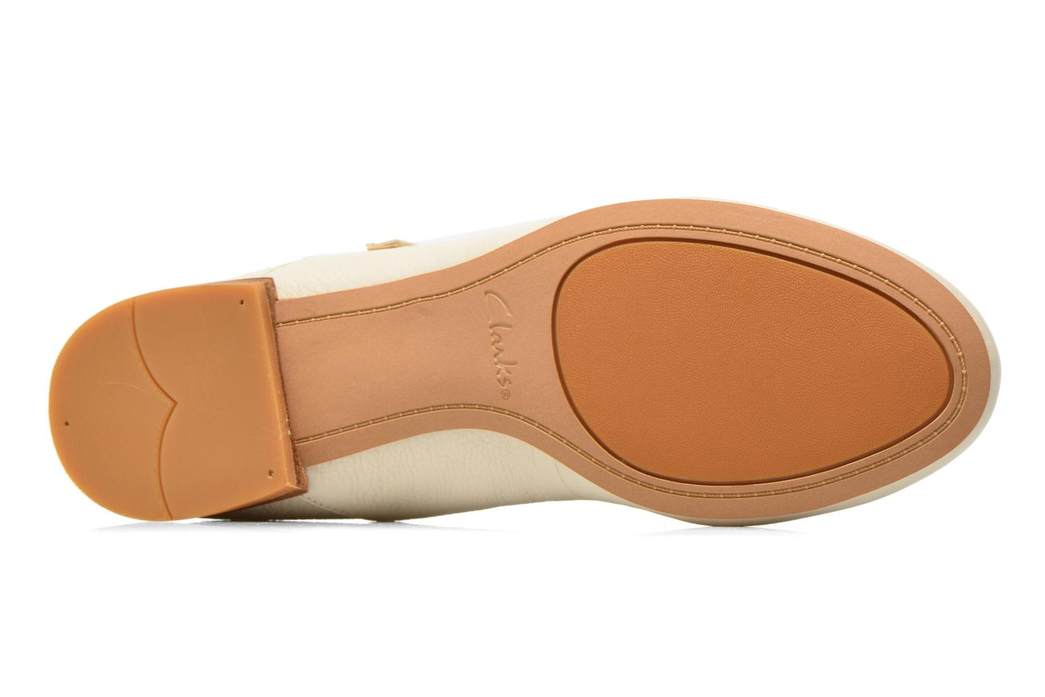 Ballet pumps Clarks Festival Glory Beige view from above