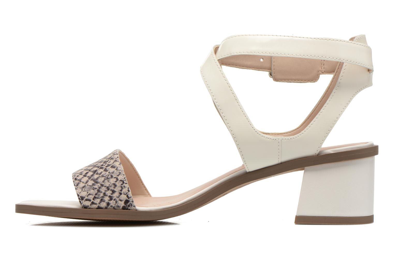 Sandales et nu-pieds Clarks Ivangelie Ray Blanc vue face