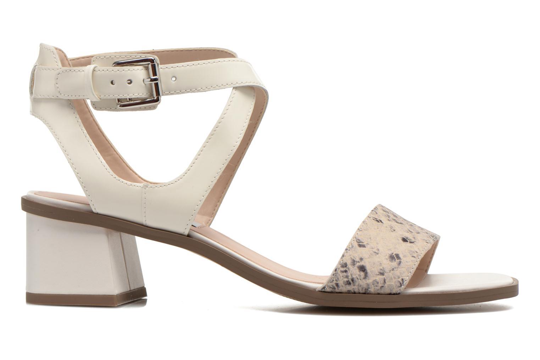 Sandales et nu-pieds Clarks Ivangelie Ray Blanc vue derrière