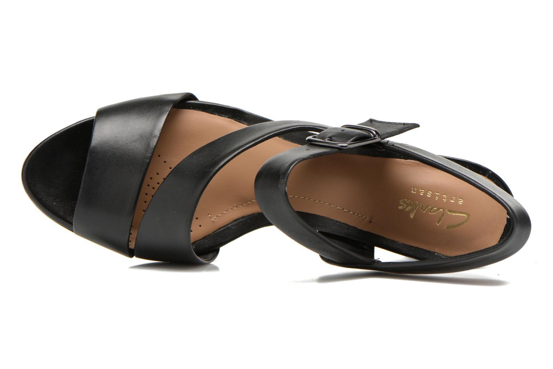 Sandales et nu-pieds Clarks Jenness Soothe Noir vue gauche