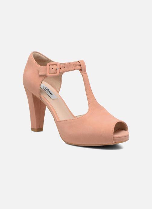 895df166319 Clarks Kendra Flower (Pink) - High heels chez Sarenza (245262)