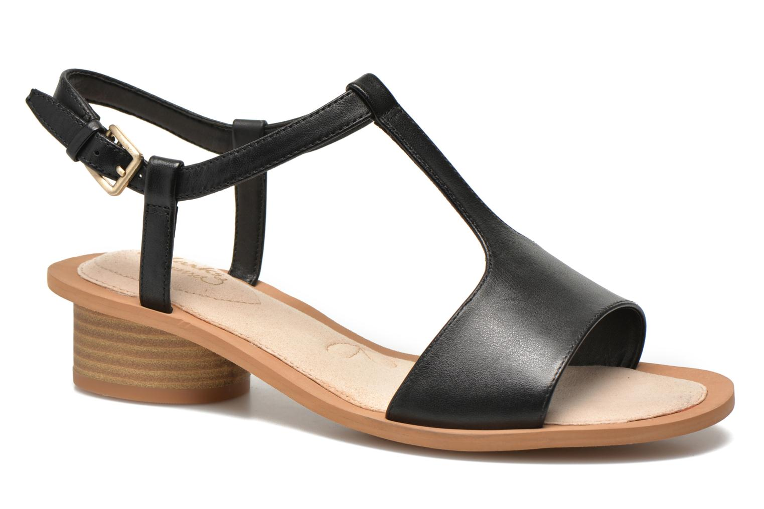 2535f6c1a29b0 ... Art Leather Sandals in Brown - Lyst super cheap 1cbaf 4a468  Sandals  Clarks Sandcastle Ice Black detailed view Pair view factory outlets 018f6  2eab7 ...