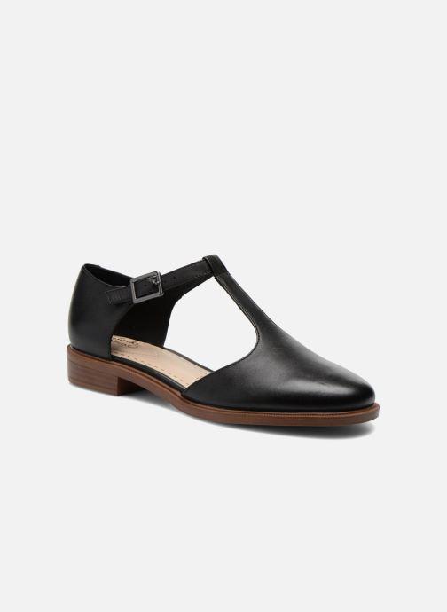 Clarks Taylor Palm Herren Flache Schuhe Schwarz Leder