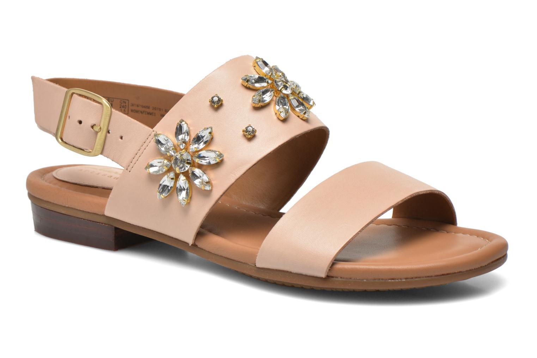 Sandalen Clarks Viveca Melrose rosa detaillierte ansicht/modell