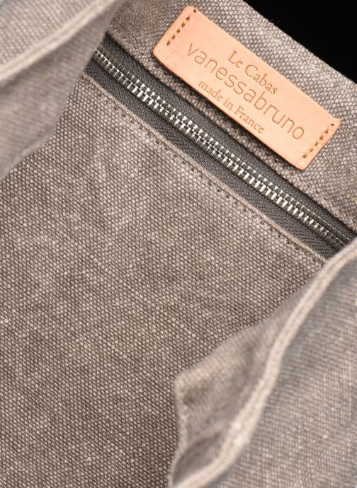 Handtassen Vanessa Bruno Cabas Lin paillettes M+ Grijs achterkant