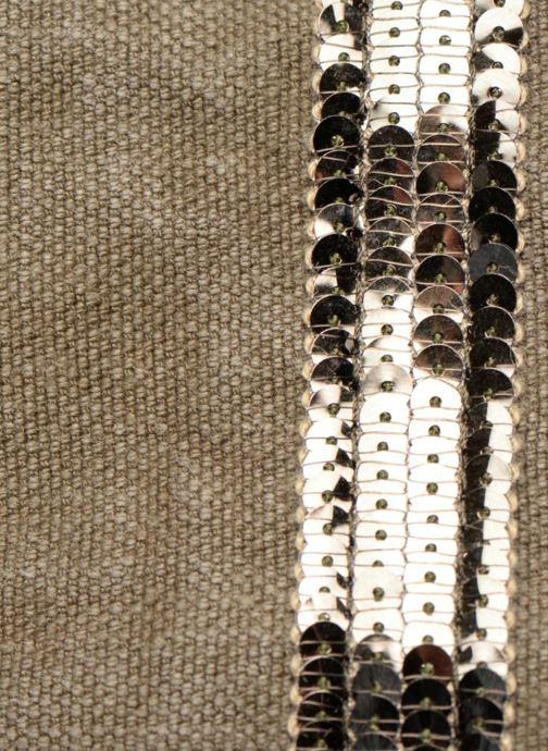 Bolsos de mano Vanessa Bruno Cabas Lin paillettes M+ Verde vista lateral izquierda