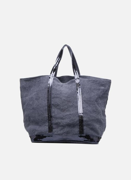 Handtassen Vanessa Bruno Cabas Lin paillettes M+ Blauw voorkant