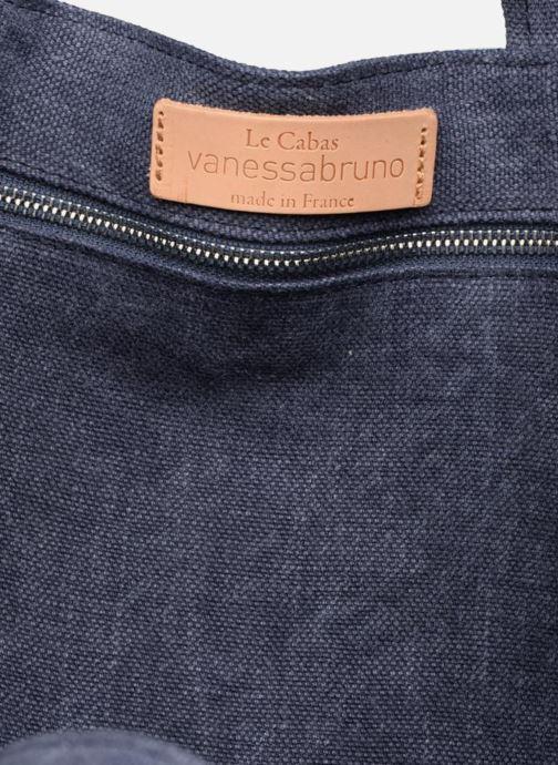 Borse Vanessa Bruno Cabas Lin paillettes M+ Azzurro immagine posteriore