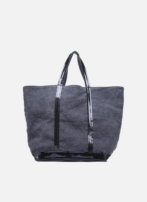 Handtassen Vanessa Bruno Cabas Lin paillettes M+ Blauw detail