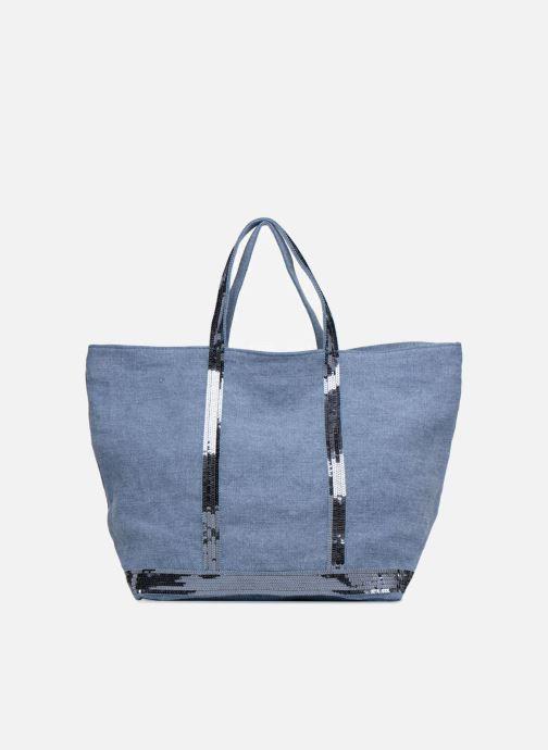 Sacs à main Vanessa Bruno Cabas Lin paillettes M+ Bleu vue détail/paire