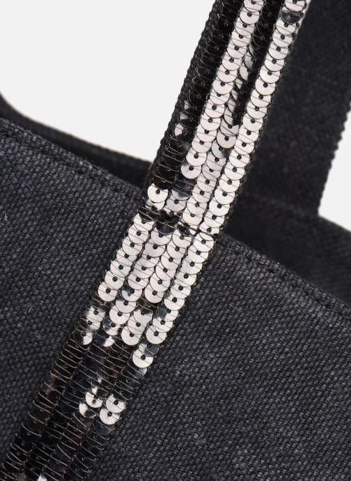 Bolsos de mano Vanessa Bruno Cabas Lin paillettes M+ Negro vista lateral izquierda