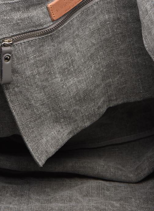 Handtaschen Vanessa Bruno Cabas Lin paillettes M+ grau ansicht von hinten