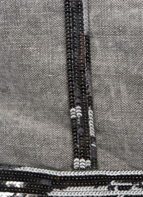 Handtaschen Vanessa Bruno Cabas Lin paillettes M+ grau ansicht von links
