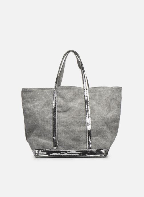 Handtaschen Vanessa Bruno Cabas Lin paillettes M+ grau detaillierte ansicht/modell