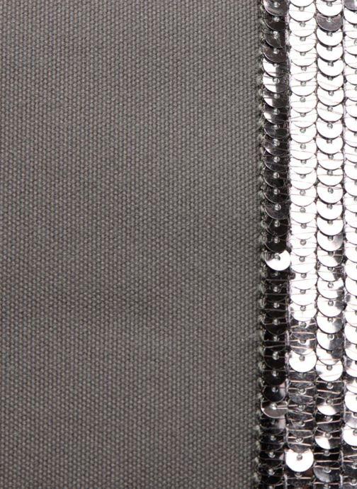 Bolsos de mano Vanessa Bruno Cabas Coton M+ Zip Gris vista lateral izquierda