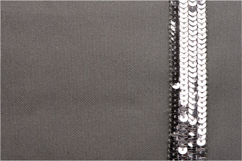 Handbags Vanessa Bruno Cabas Coton M+ Zip Grey view from the left
