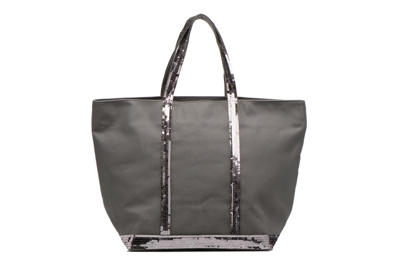 Handbags Vanessa Bruno Cabas Coton M+ Zip Grey detailed view/ Pair view