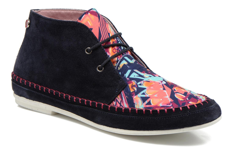Snøresko Yum Gum Nicki Multi detaljeret billede af skoene