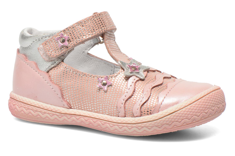 Zapatos con velcro Bopy Balina Rosa vista de detalle / par