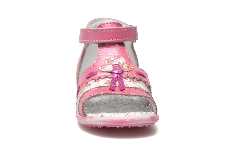 Sandalen Bopy Balivel rosa schuhe getragen