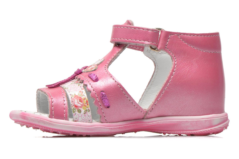 Sandalen Bopy Balivel rosa ansicht von vorne