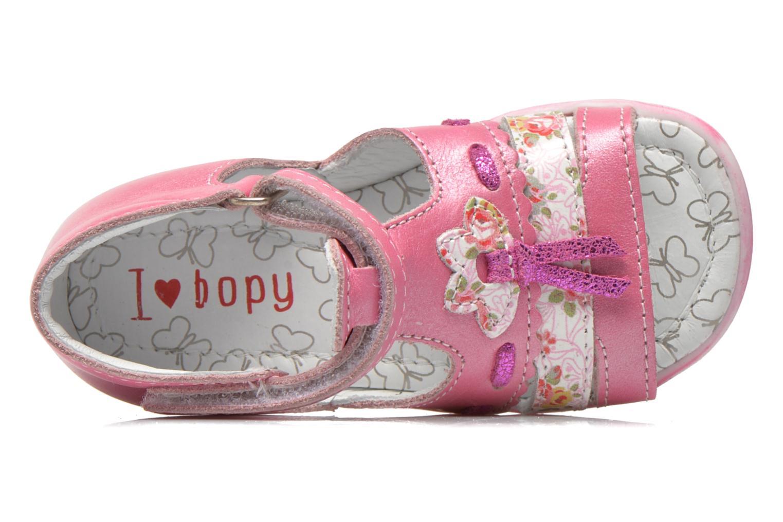 Sandalen Bopy Balivel rosa ansicht von links