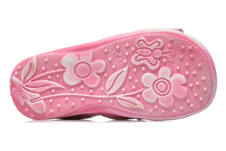 Sandalen Bopy Balivel rosa ansicht von oben