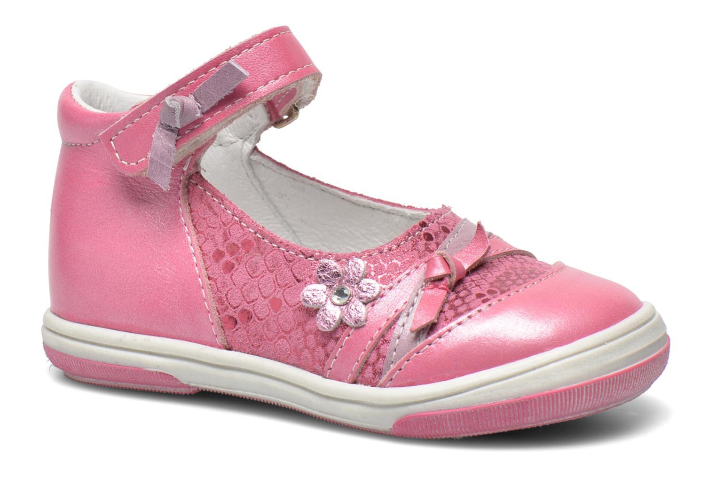 Ballerinaer Bopy Belene Pink detaljeret billede af skoene