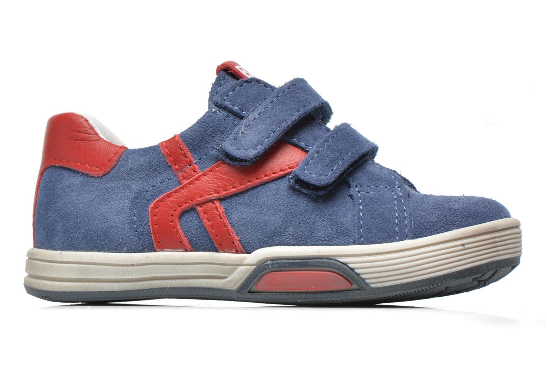 Sneakers Bopy Bladimir Blauw achterkant
