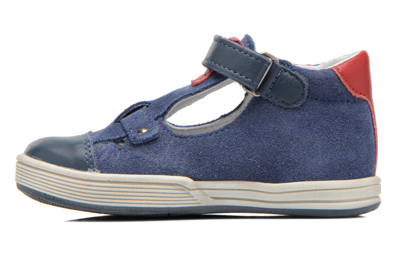 Chaussures à scratch Bopy Blog Bleu vue face