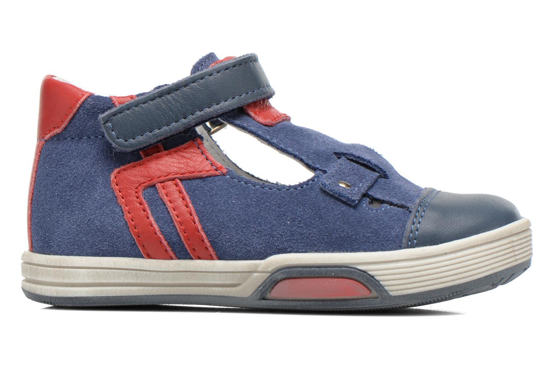 Chaussures à scratch Bopy Blog Bleu vue derrière