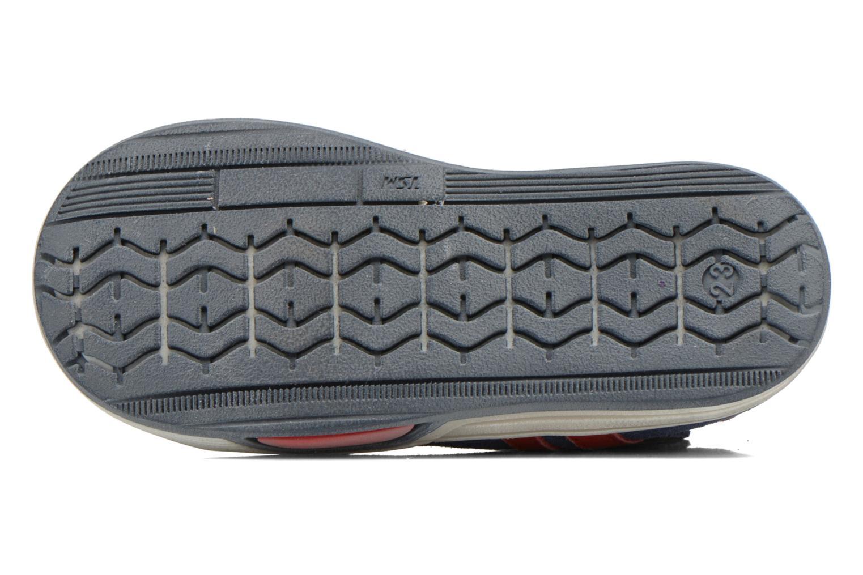 Chaussures à scratch Bopy Blog Bleu vue haut