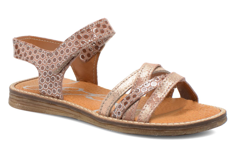 Sandales et nu-pieds Bopy Editara Marron vue détail/paire