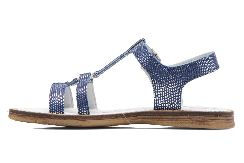 Sandales et nu-pieds Bopy Elea Bleu vue face