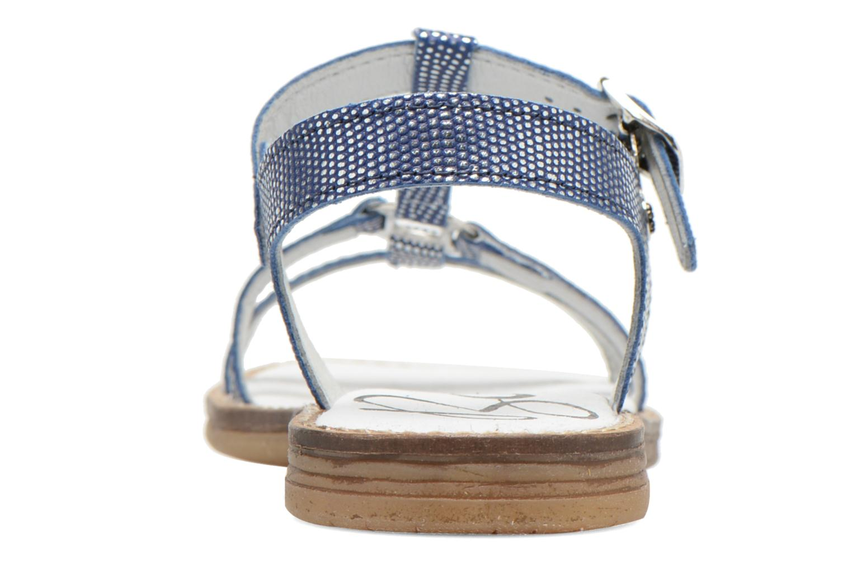 Sandales et nu-pieds Bopy Elea Bleu vue droite