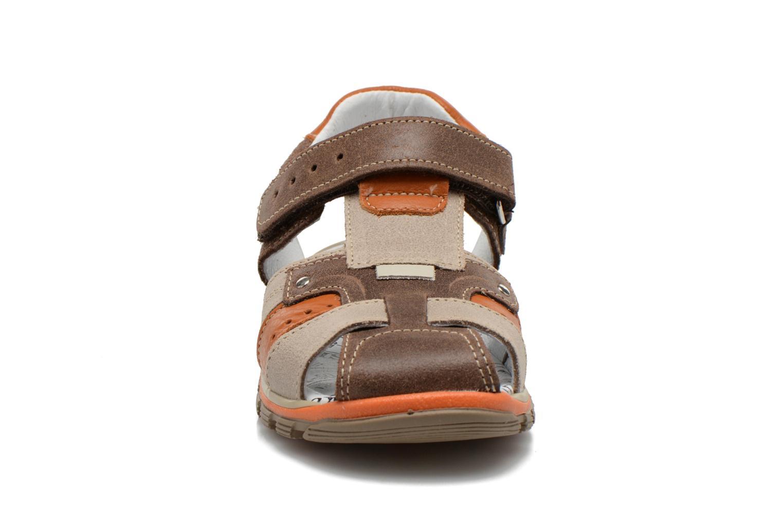 Sandales et nu-pieds Bopy Erdol Marron vue portées chaussures