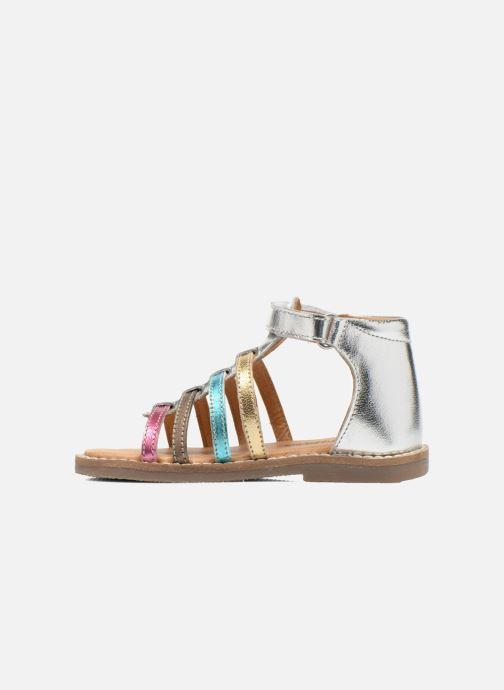 Sandali e scarpe aperte Bopy Hamio kouki Argento immagine frontale