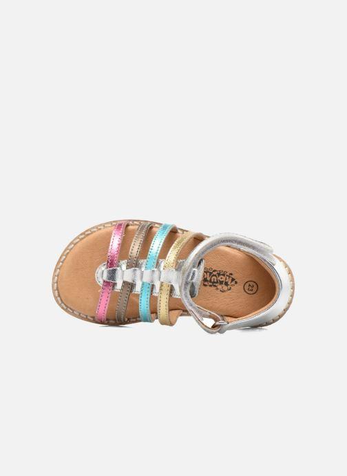 Sandali e scarpe aperte Bopy Hamio kouki Argento immagine sinistra