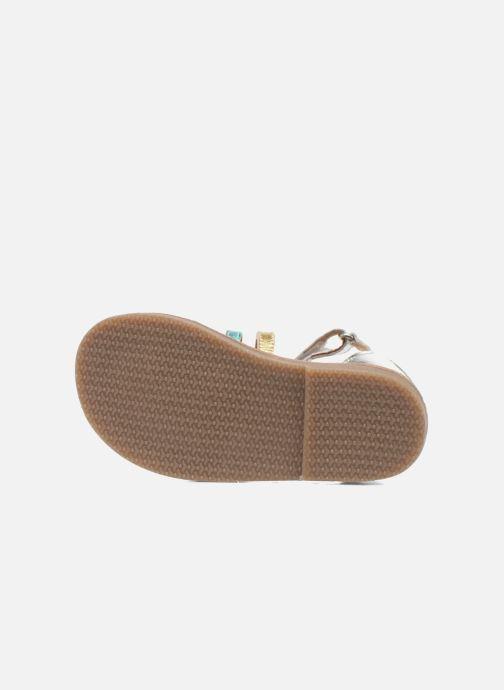 Sandali e scarpe aperte Bopy Hamio kouki Argento immagine dall'alto