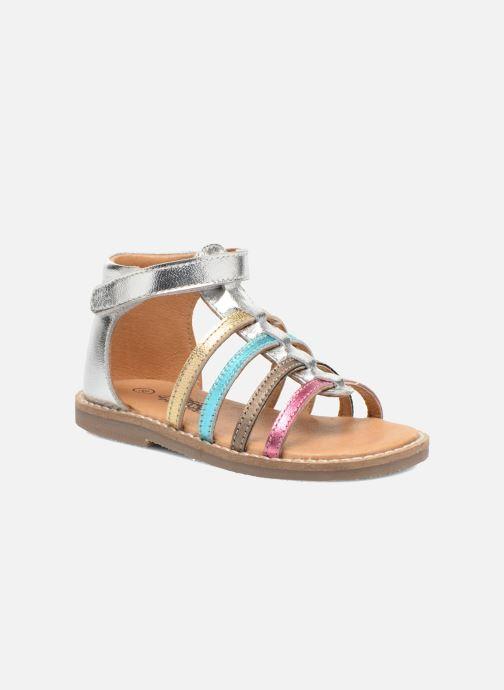 Sandales et nu-pieds Bopy Hamio kouki Argent vue détail/paire