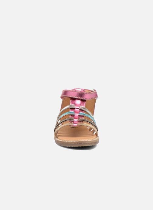 Sandali e scarpe aperte Bopy Hamio kouki Rosa modello indossato