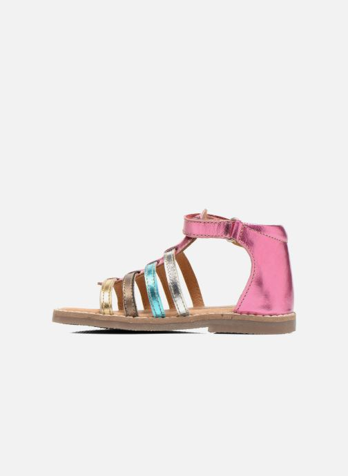 Sandali e scarpe aperte Bopy Hamio kouki Rosa immagine frontale