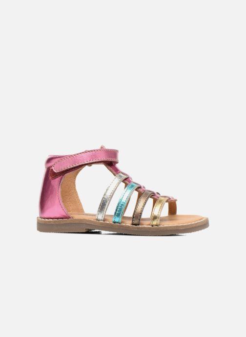 Sandales et nu-pieds Bopy Hamio kouki Rose vue derrière