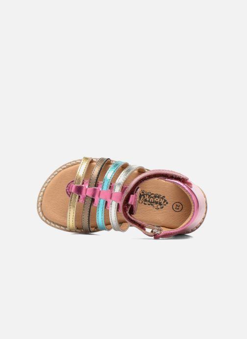 Sandali e scarpe aperte Bopy Hamio kouki Rosa immagine sinistra