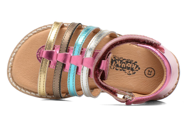 Sandales et nu-pieds Bopy Hamio kouki Rose vue gauche