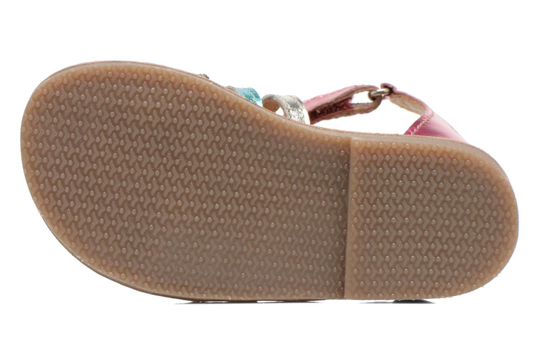 Sandales et nu-pieds Bopy Hamio kouki Rose vue haut