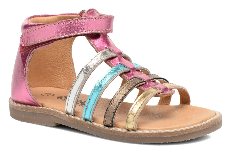 Sandales et nu-pieds Bopy Hamio kouki Rose vue détail/paire