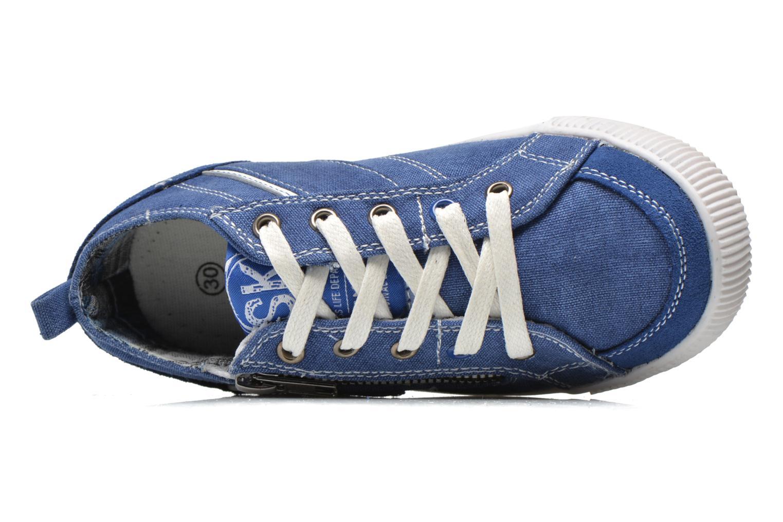 Sneakers Bopy Isidoro Blauw links