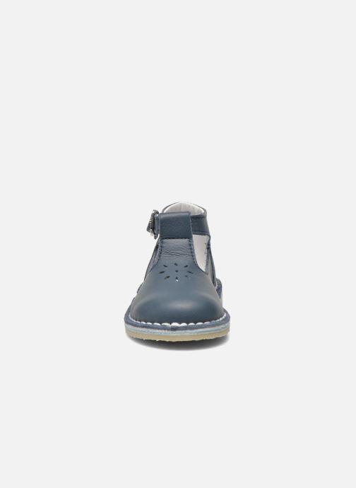 Bottines d'été Bopy Mapil Bleu vue portées chaussures